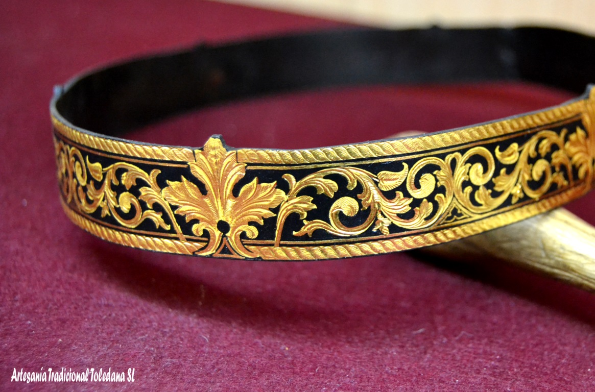 Handicraft products adapted for films, tv series and theatre productions. Damascene Crown. Still Star Crossed