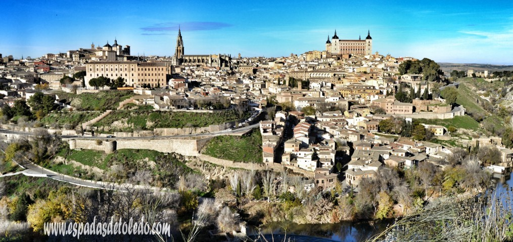 Panoramic Photography of Toledo - Artesanía Tradicional Toledana